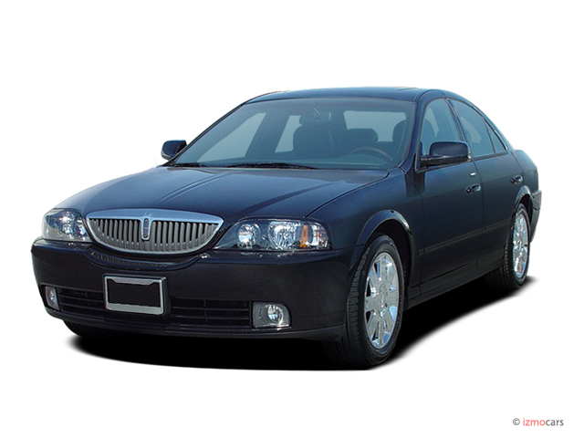 2005 Lincoln LS 4-door Sedan V8 Auto w/Ultimate Pkg Angular Front Exterior View