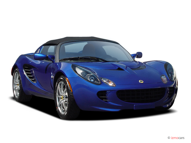 2005 Lotus Elise 2-door Convertible Angular Front Exterior View
