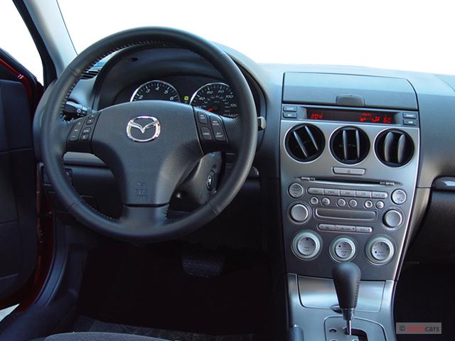 image 2005 mazda mazda6 5dr sport hb s manual dashboard. Black Bedroom Furniture Sets. Home Design Ideas