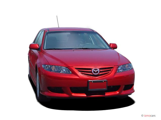 2005 Mazda MAZDA6 5dr Sport Wagon s Auto Angular Front Exterior View