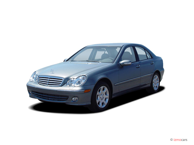 image 2005 mercedes benz c class 4 door sedan 2 6l 4matic awd angular front exterior view size. Black Bedroom Furniture Sets. Home Design Ideas
