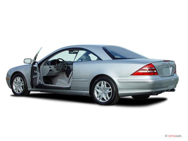 Image 2005 mercedes benz cl class 2 door coupe 5 0l open for Mercedes benz 2 door coupe