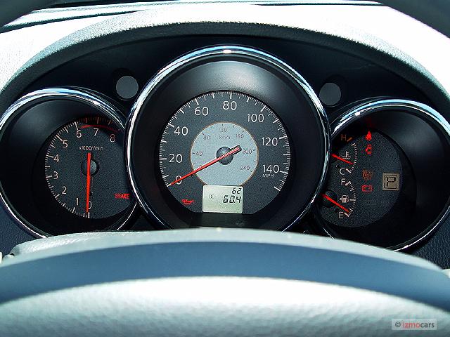 Nissan Altima Door Sedan S Auto Instrument Cluster M
