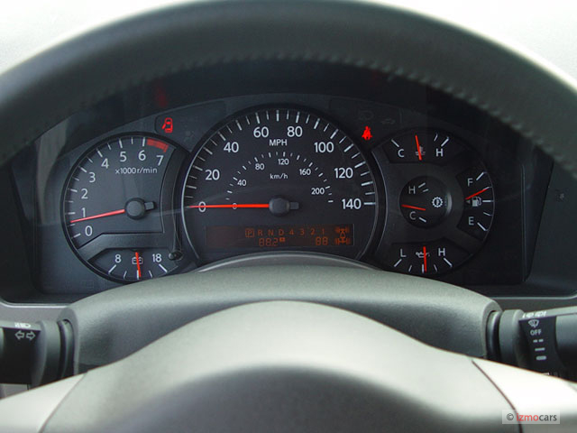 image 2005 nissan armada le 2wd instrument cluster size. Black Bedroom Furniture Sets. Home Design Ideas