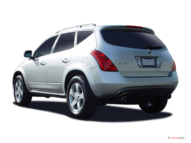 image 2005 nissan murano 4 door sl awd v6 angular rear exterior view size 640 x 480 type. Black Bedroom Furniture Sets. Home Design Ideas