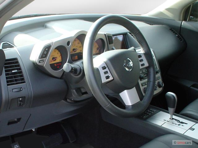 Image 2005 Nissan Murano 4 Door Sl Awd V6 Dashboard Size