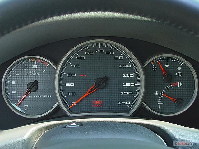 Image 2005 Pontiac Grand Prix 4 Door Sedan Gt Instrument