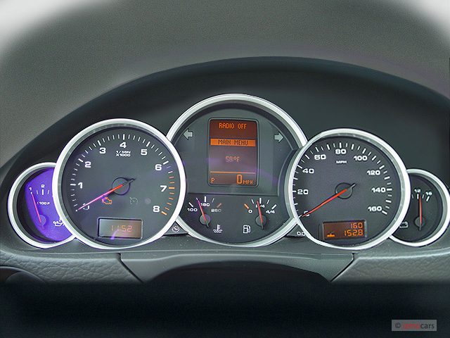 Image 2005 Porsche Cayenne 4 Door S Tiptronic Instrument