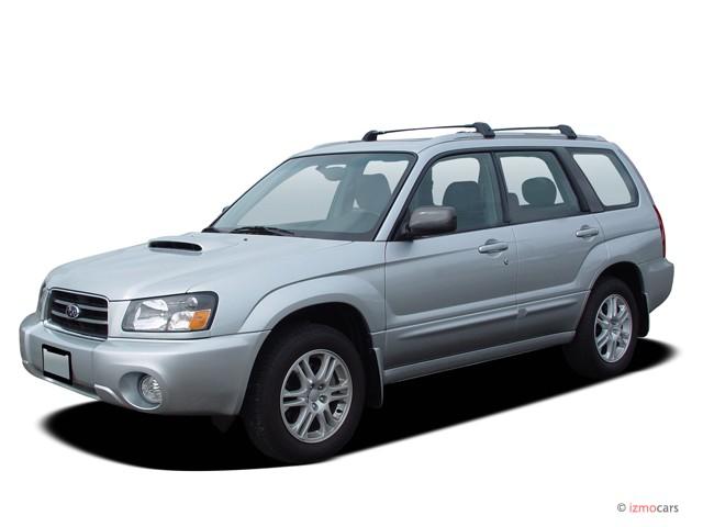 Image 2005 Subaru Forester Natl 4 Door 2 5 Xt Auto W Premium Pkg Angular Front Exterior View