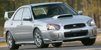 2005 Subaru Impreza Sedan (Natl) WRX STi w/Gold Wheels