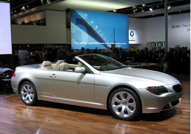 2005 6-Series Convertible