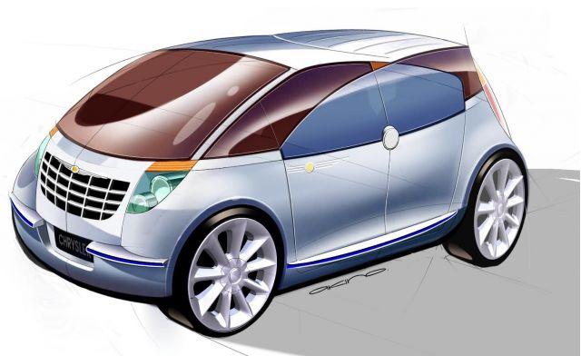 2005 Chrysler Akino concept