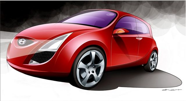 2005 Hyundai HED-1 concept
