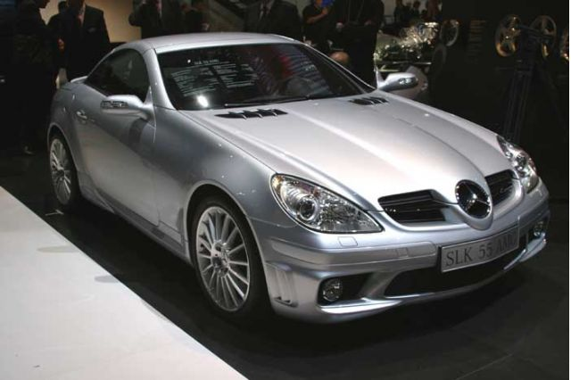 2005 Mercedes-Benz SLK 55