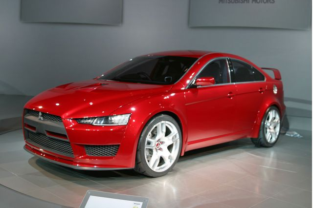 2005 Mitsubishi Concept-X
