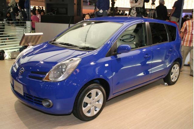 2005 Nissan Note concept