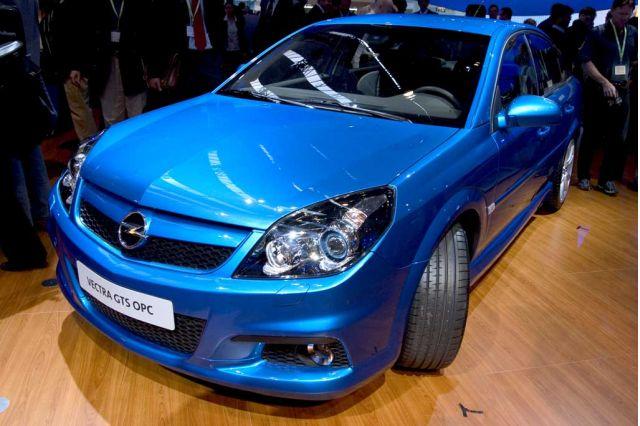 2005 Opel Vectra GTS OPC