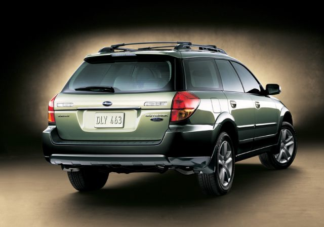 2005 Subaru Outback Rear