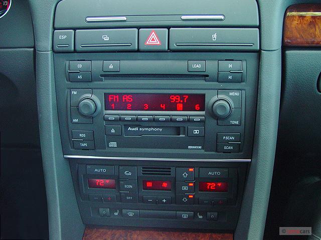 image 2006 audi a4 2 door cabriolet 1 8t cvt instrument. Black Bedroom Furniture Sets. Home Design Ideas