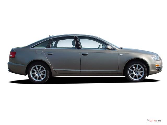 image 2006 audi a6 4 door sedan 3 2l quattro auto side exterior view size 640 x 480 type. Black Bedroom Furniture Sets. Home Design Ideas