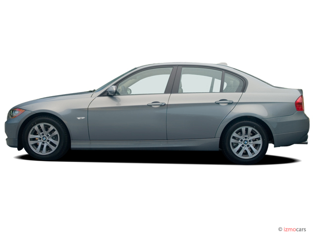 2006 BMW 3-Series 325i 4-door Sedan RWD Side Exterior View