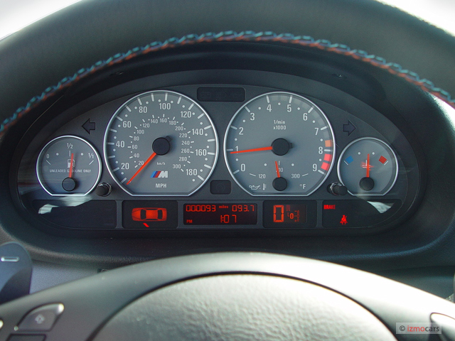 Image: 2006 BMW 3-Series M3 2-door Coupe Instrument Cluster, size: 640 x 480, type: gif, posted ...