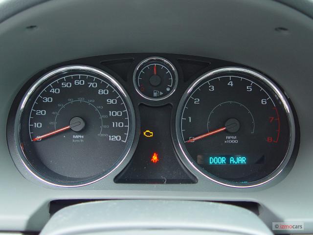 Image: 2006 Chevrolet Cobalt 4-door Sedan LS Instrument ...