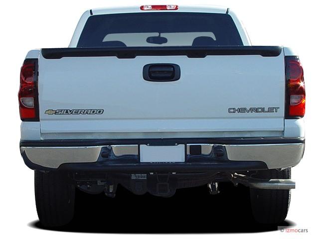"2015 Chevrolet Silverado 1500 Double Cab >> Image: 2006 Chevrolet Silverado 1500 Ext Cab 143.5"" WB 2WD Work Truck Rear Exterior View, size ..."