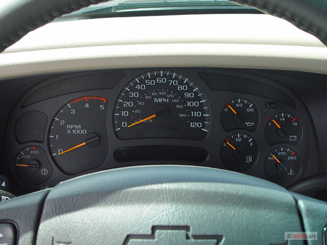 image 2006 chevrolet silverado 2500hd ext cab 157 5 wb 4wd ls instrument cluster size 640 x. Black Bedroom Furniture Sets. Home Design Ideas
