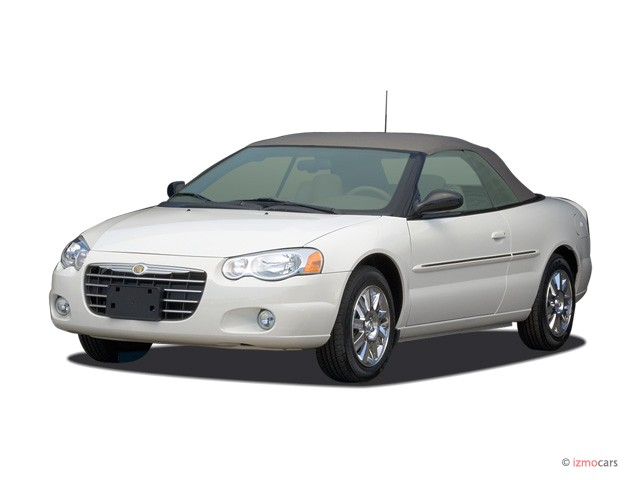 2006 Chrysler Sebring Convertible 2-door Limited Angular Front Exterior View