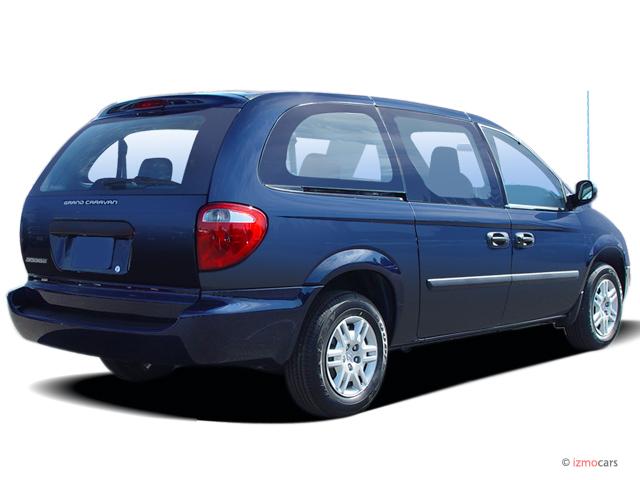 Image 2006 Dodge Grand Caravan 4 Door Se Angular Rear