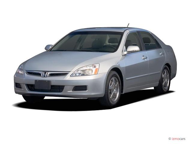 2006 Honda Accord Hybrid AT Angular Front Exterior View