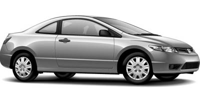 2006 Honda Civic Cpe DX