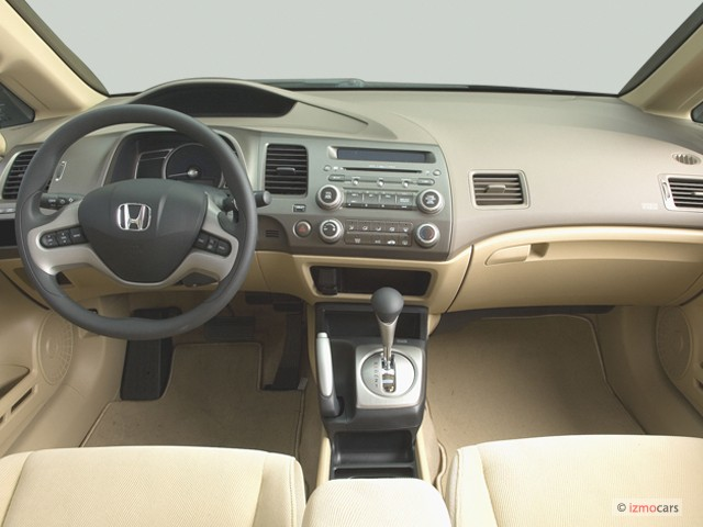Image 2006 Honda Civic Sedan Ex At Dashboard Size 640 X
