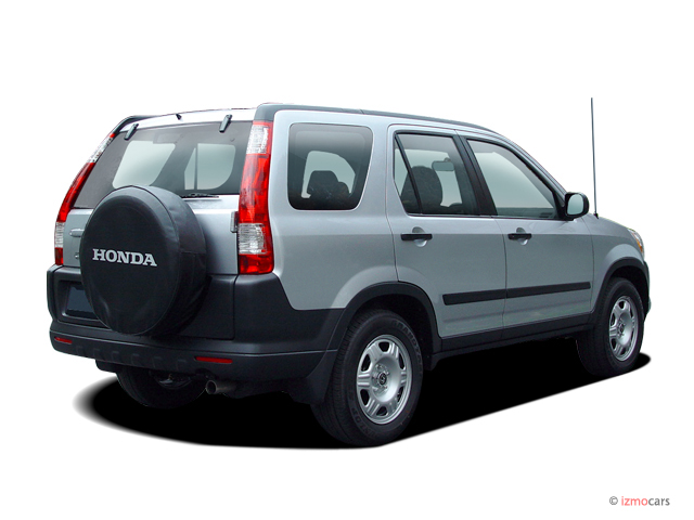Image 2006 Honda Cr V 4wd Ex At Angular Rear Exterior