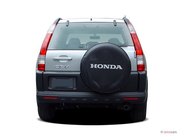 Image: 2006 Honda CR-V 4WD EX AT Rear Exterior View, size ...
