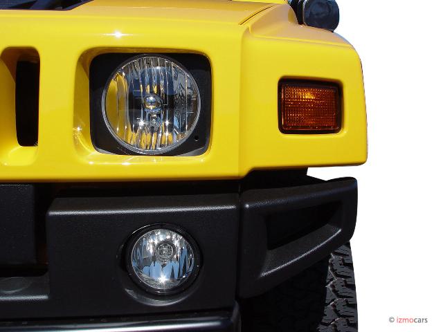 2006 HUMMER H2 4-door Wagon 4WD SUV Headlight