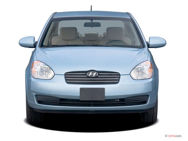 Hyundai Accent Door Sedan Gls Auto Front Exterior View M on 2006 Hyundai Elantra Remote