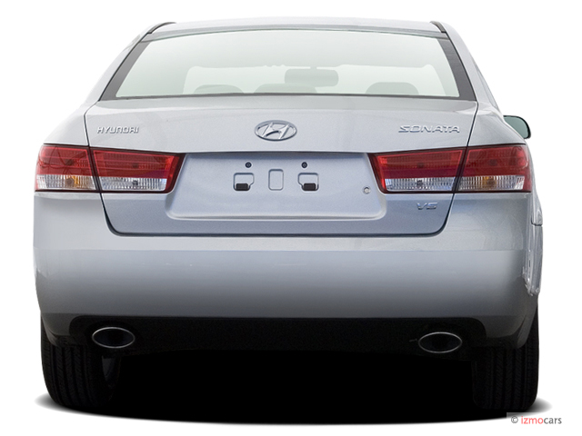 Image 2006 Hyundai Sonata 4 Door Sedan Gls V6 Auto Rear