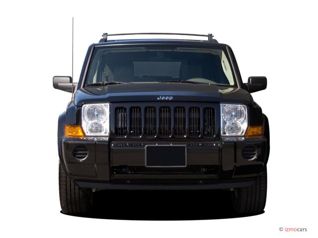 image 2006 jeep commander 4 door 2wd front exterior view. Black Bedroom Furniture Sets. Home Design Ideas