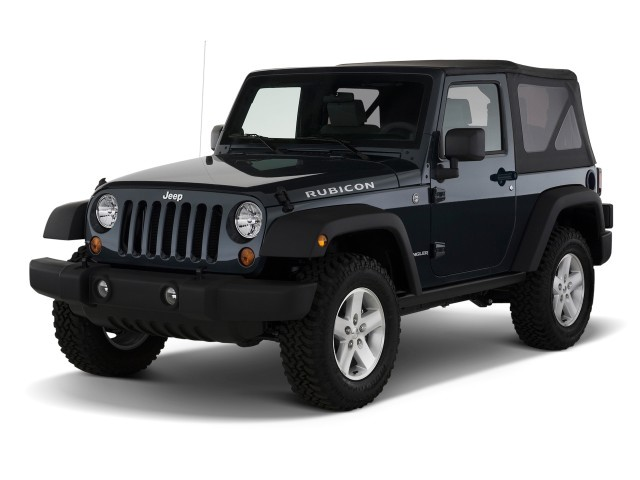 2009 Jeep Wrangler 4WD 2-door Rubicon Angular Front Exterior View