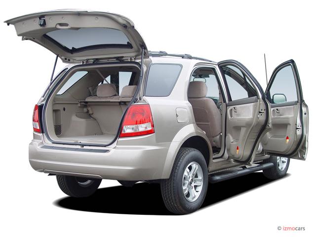 2006 Kia Sorento 4-door LX Auto 4WD Open Doors