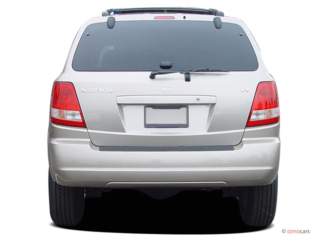 2006 Kia Sorento 4-door LX Auto 4WD Rear Exterior View