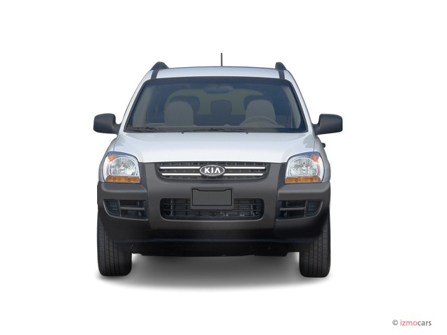 2006 Kia Sportage 4-door LX I4 Manual Front Exterior View