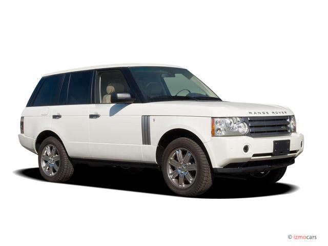 2006 Land Rover Range Rover 4-door Wagon HSE Angular Front Exterior View