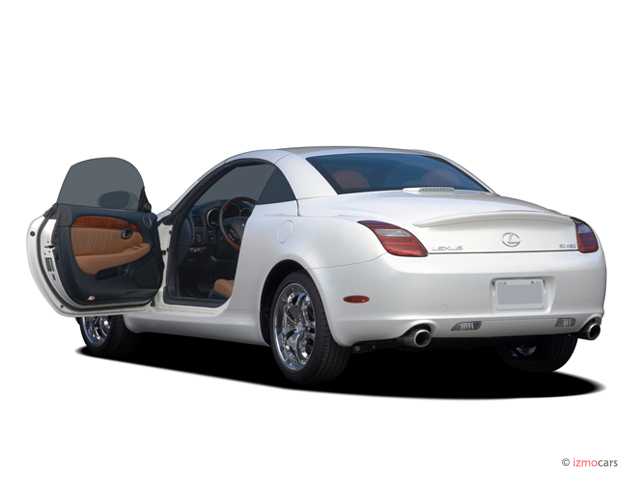 image 2006 lexus sc 430 2 door convertible open doors. Black Bedroom Furniture Sets. Home Design Ideas