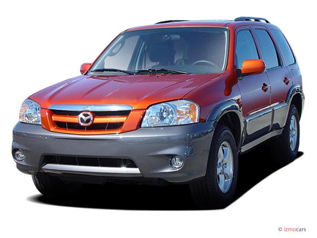 2006 Mazda Tribute 3.0L Auto s Angular Front Exterior View