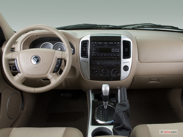 Image 2006 Mercury Mariner 4 Door Premier Dashboard Size