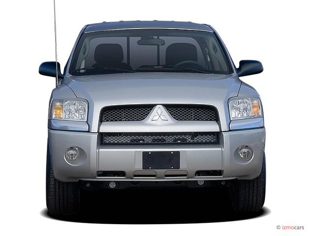 Image: 2006 Mitsubishi Raider Double Cab V6 Auto LS Front Exterior View, size: 640 x 480, type ...