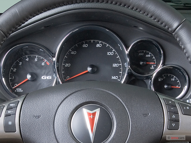 image 2006 pontiac g6 4 door sedan gtp instrument cluster size 640 x 480 type gif posted. Black Bedroom Furniture Sets. Home Design Ideas